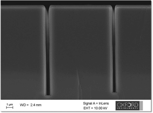 Conformal coating of high aspect ratio (15:1) structure with high-rate plasma ALD SiO2