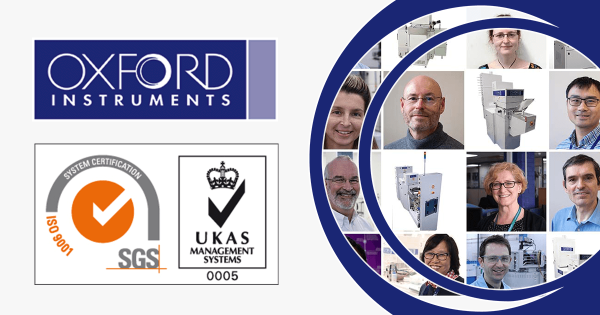 Oxford Instruments Plasma Technology ISO 9001